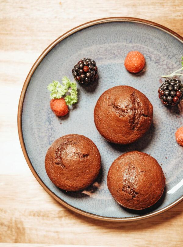 Chokolademuffin glutenfri