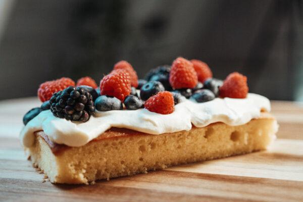 Glutenfri lys kage