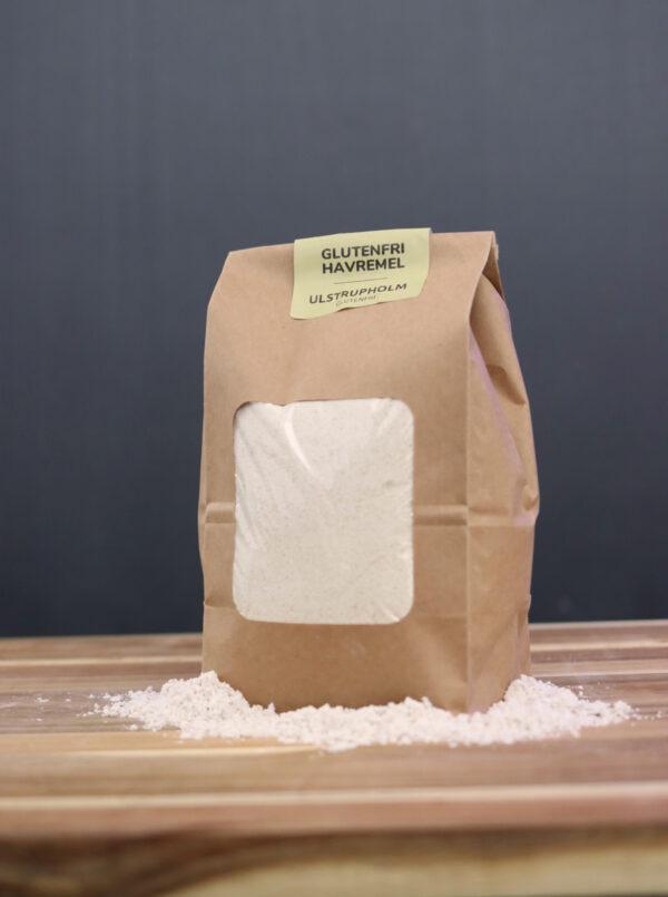 økologisk glutenfri havremel fuldkorn